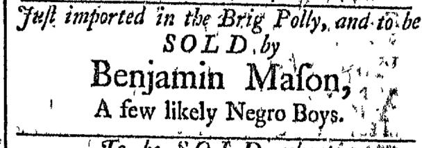 Jun 6 - Newport Mercury Slavery 1