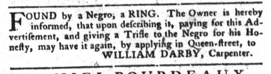 Jun 7 - South-Carolina Gazette and Country Journal Slavery 2
