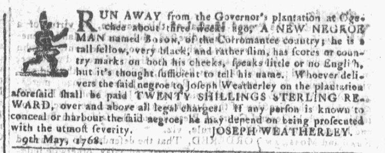 Jun 8 - Georgia Gazette Slavery 2