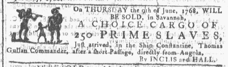 Jun 8 - Georgia Gazette Slavery 3
