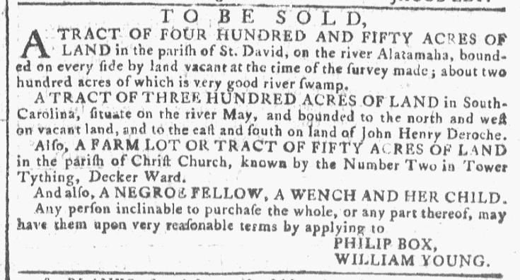 Jun 8 - Georgia Gazette Slavery 5