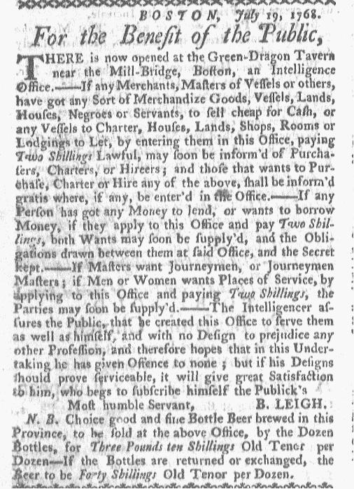 Aug 1 - Boston-Gazette Slavery 2
