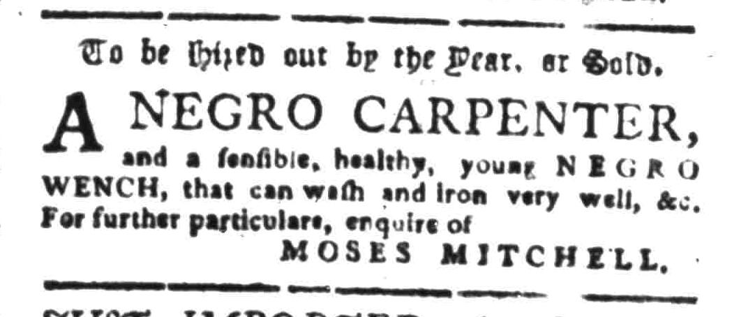 Aug 1 - South-Carolina Gazette Slavery 8