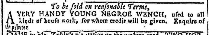Aug 10 - Georgia Gazette Slavery 6