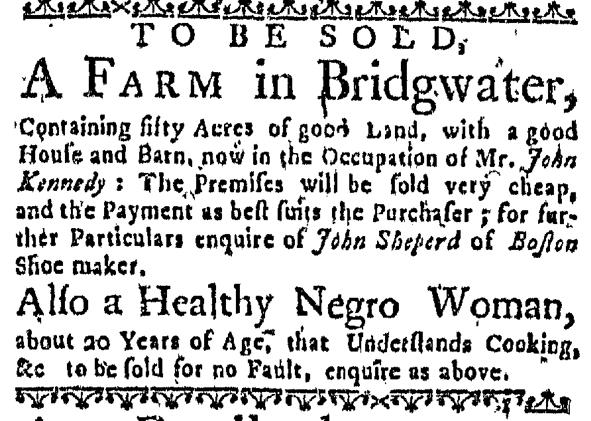 Aug 11 - Massachusetts Gazette Draper Slavery 1