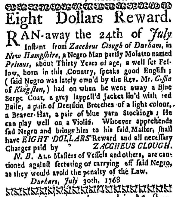 Aug 11 - Massachusetts Gazette Draper Slavery 2