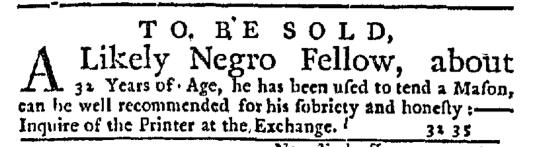Aug 11 - New-York Journal Supplment Slavery 1