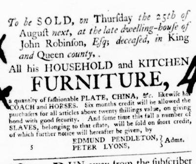 Aug 11 - Virginia Gazette Purdie and Dixon Slavery 8