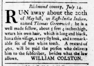 Aug 11 - Virginia Gazette Rind Slavery 7