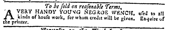 Aug 3 - Georgia Gazette Slavery 12