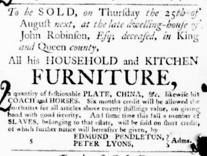 Aug 4 - Virginia Gazette Purdie and Dixon Slavery 6