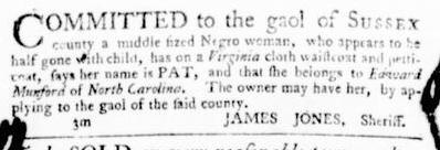 Aug 4 - Virginia Gazette Purdie and Dixon Slavery 8