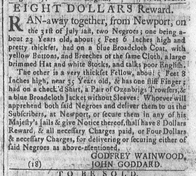 Aug 8 - Newport Mercury Slavery 2