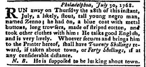 Aug 8 - Pennsylvania Chronicle Slavery 2
