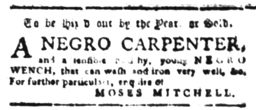 Aug 8 - South-Carolina Gazette Slavery 2