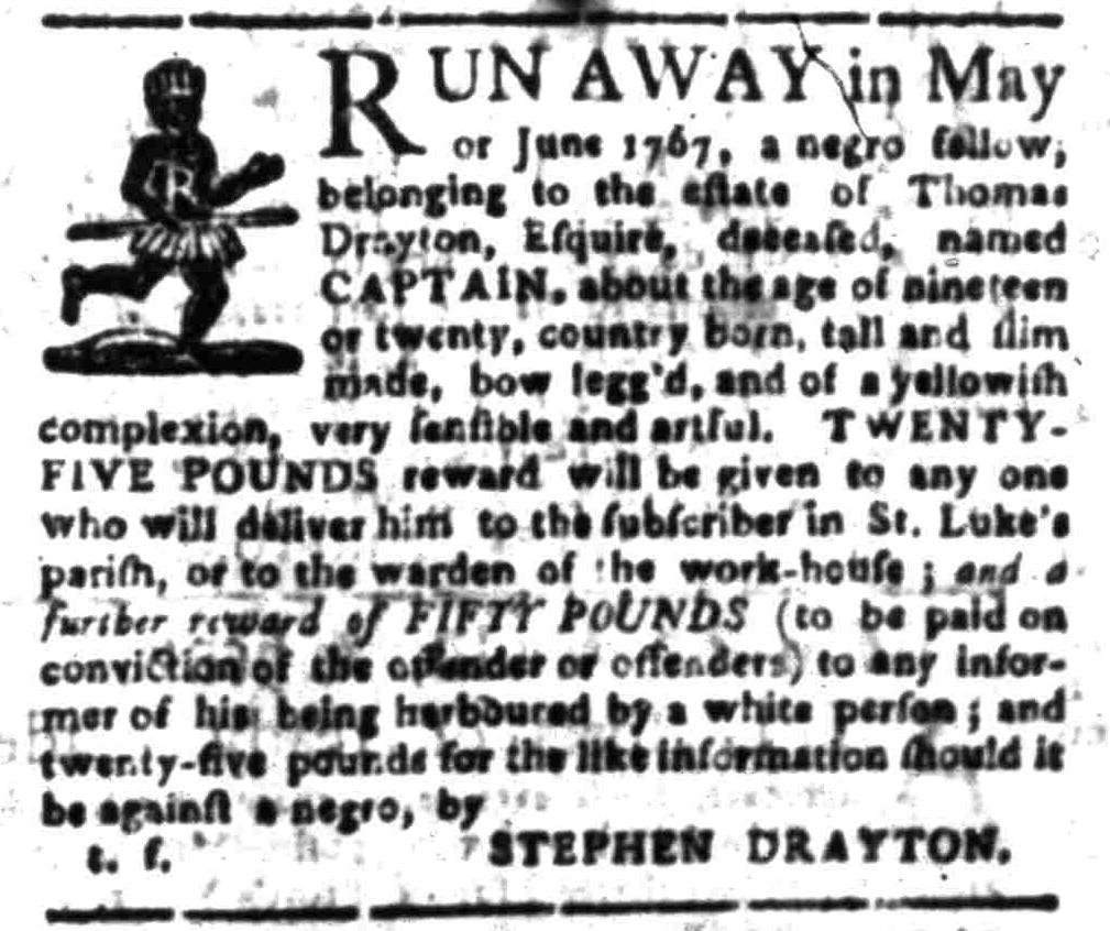 Aug 8 - South-Carolina Gazette Slavery 7