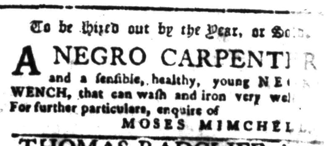 Jul 18 - South-Carolina Gazette Additional Supplement Slavery 3