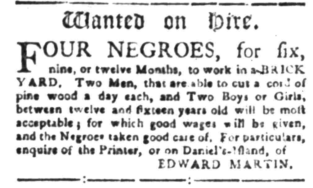 Jul 18 - South-Carolina Gazette Slavery 5
