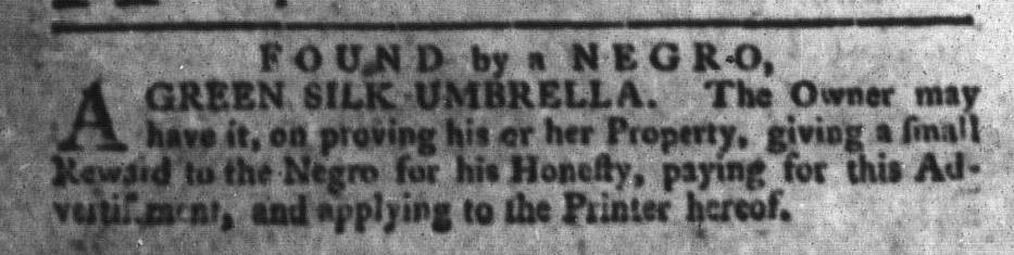Jul 19 - South-Carolina Gazette and Country Journal Slavery 9