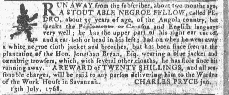 Jul 20 - Georgia Gazette Slavery 7