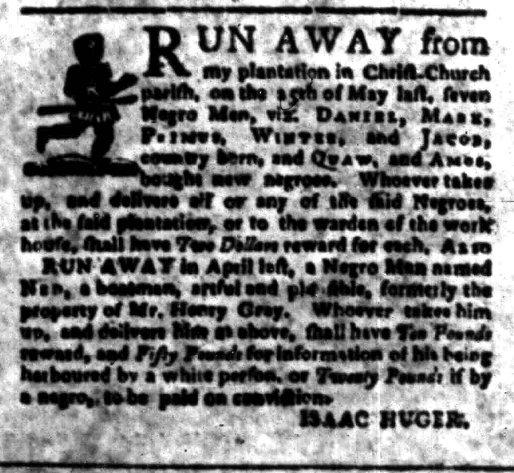 Jul 25 - South-Carolina Gazette Slavery 10