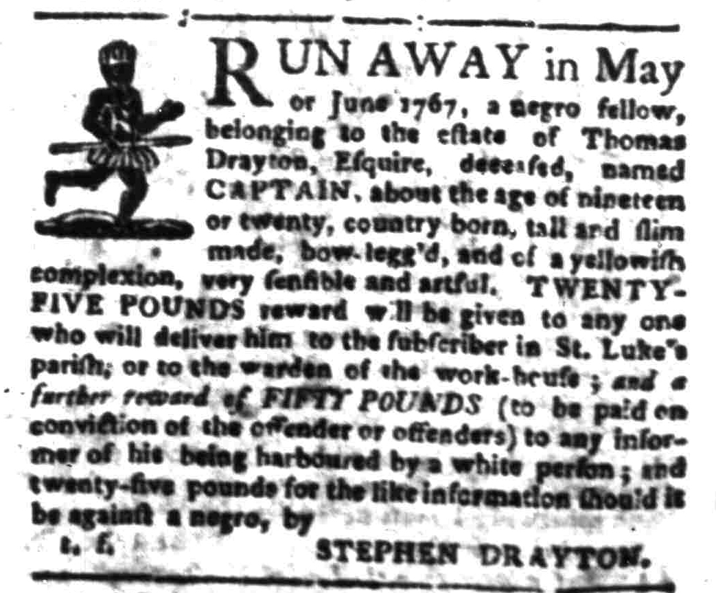 Jul 25 - South-Carolina Gazette Slavery 4