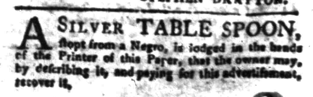 Jul 25 - South-Carolina Gazette Slavery 5
