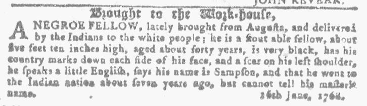Jul 27 - Georgia Gazette Slavery 13