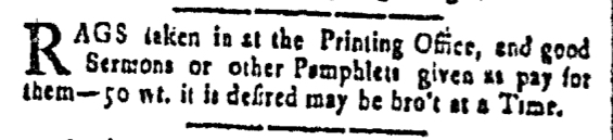 Jul 29 - 7:29:1768 New-Hampshire Gazette