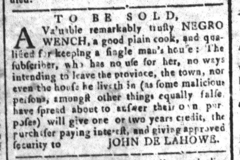 Jul 29 - South Carolina and American General Gazette Slavery 8