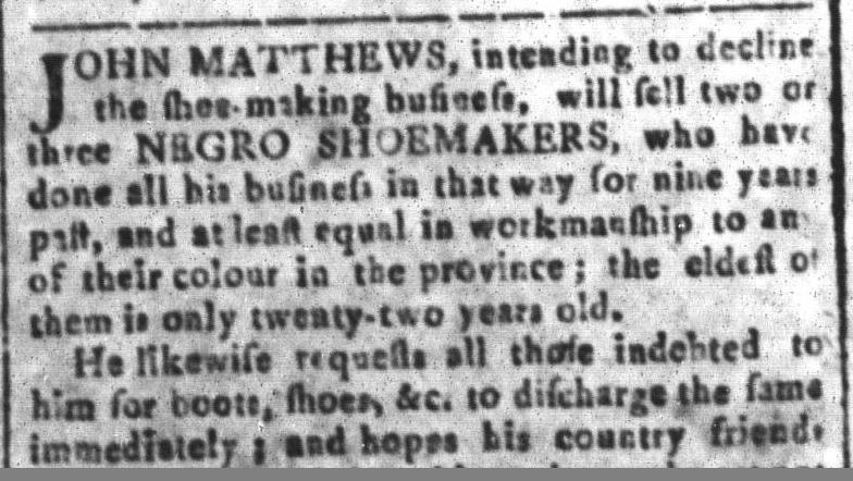 Jul 29 - South Carolina and American General Gazette Slavery 9