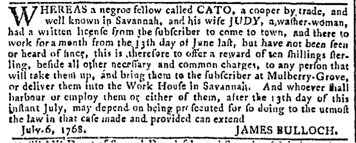 Aug 17 - Georgia Gazette Slavery 11