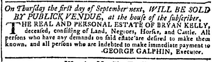 Aug 17 - Georgia Gazette Slavery 7
