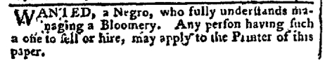 Aug 22 - Pennsylvania Chronicle Slavery 1
