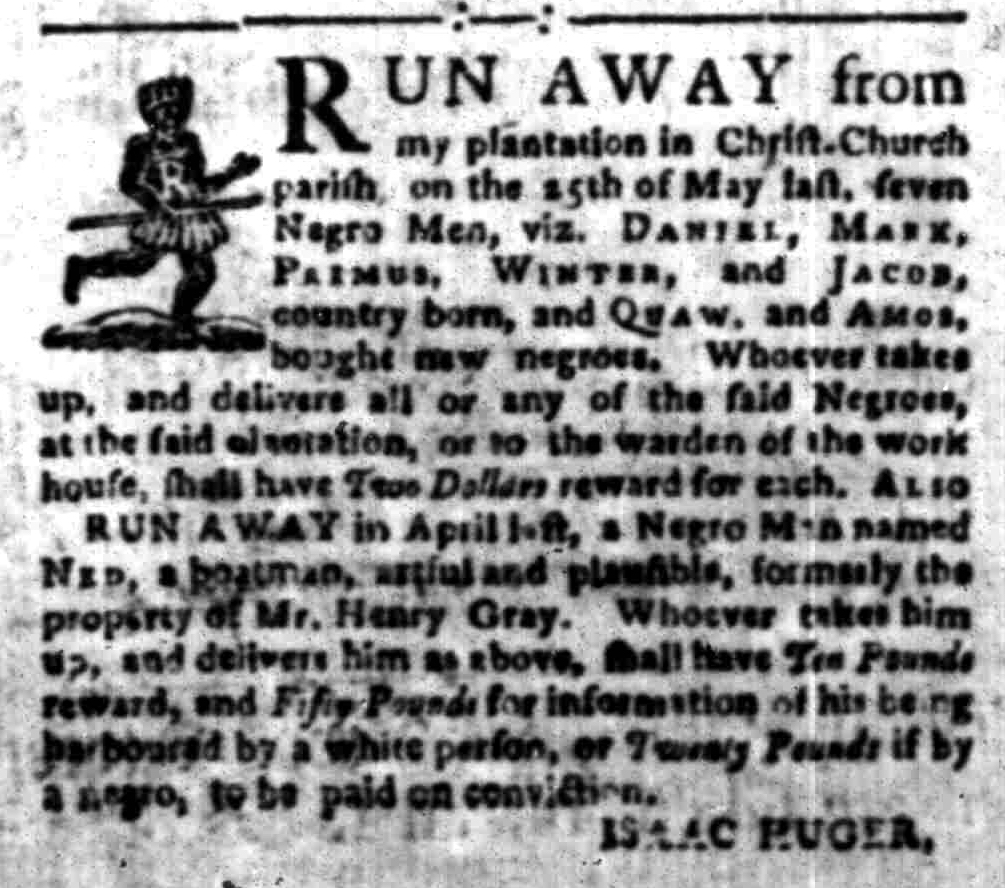 Aug 22 - South-Carolina Gazette Slavery 2