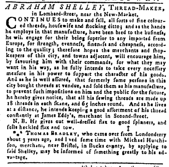 Aug 25 - 8:25:1768 Pennsylvania Gazette