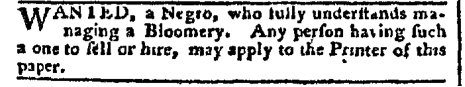 Aug 29 - Pennsylvania Chronicle Slavery 1