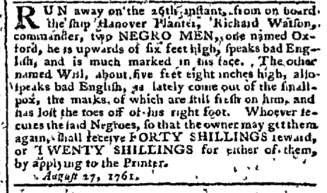 Aug 29 - Pennsylvania Chronicle Slavery 2
