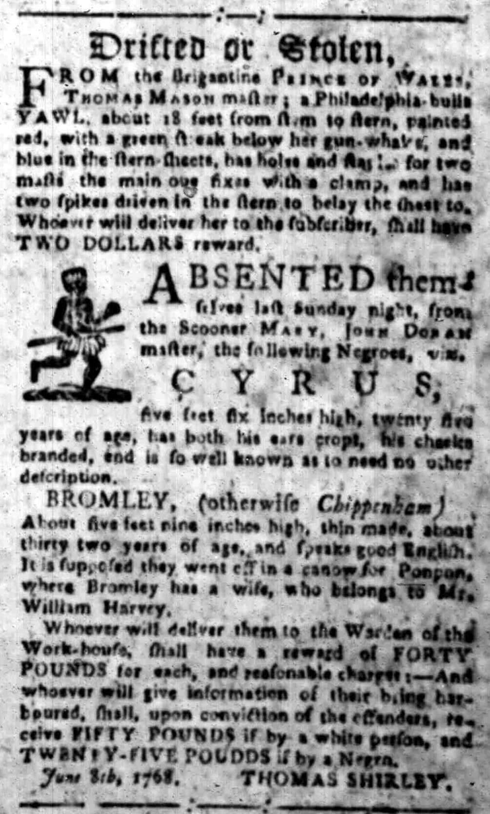 Aug 29 - South-Carolina Gazette Slavery 4