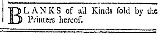 Aug 6 - 8:6:1768 Providence Gazette