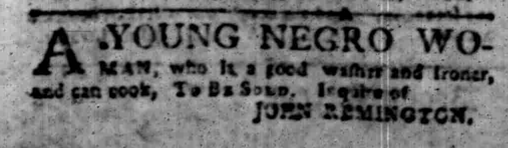 Oct 3 - South-Carolina Gazette Slavery 2