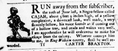 Sep 1 - Virginia Gazette Purdie and Dixon Slavery 10