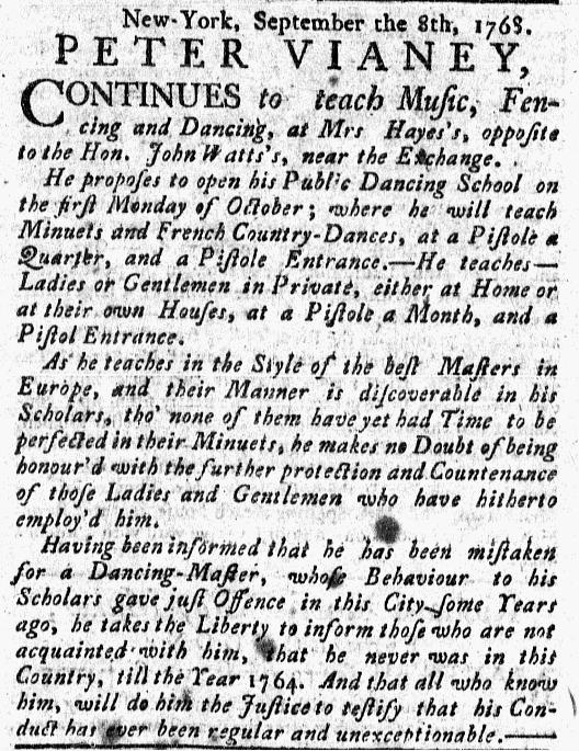 Sep 11 - 9:8:1768 New-York Journal