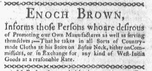 Sep 12 - 9:12:1768 Boston-Gazette