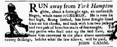 Sep 15 - Virginia Gazette Purdie and Dixon Slavery 6