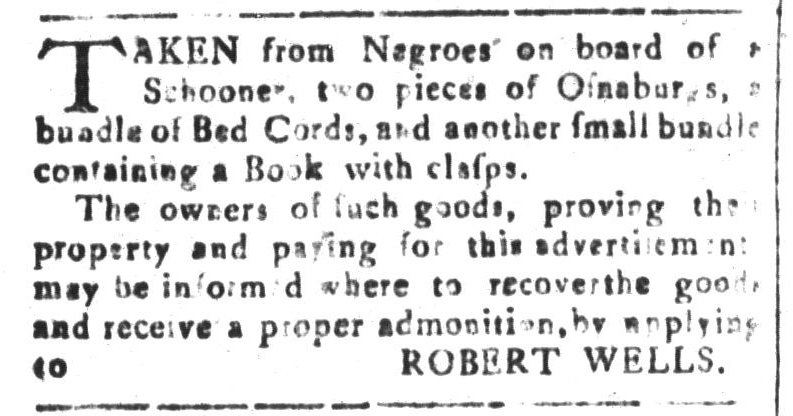 Sep 16 - South-Carolina and American General Gazette Slavery 2