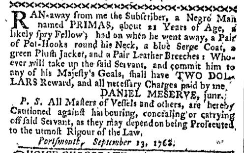 Sep 19 - Boston-Gazette Slavery 1