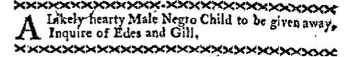 Sep 19 - Boston-Gazette Supplement Slavery 2