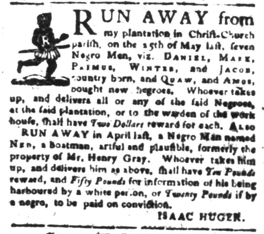 Sep 19 - South-Carolina Gazette Slavery 4