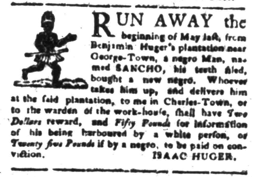 Sep 19 - South-Carolina Gazette Slavery 5